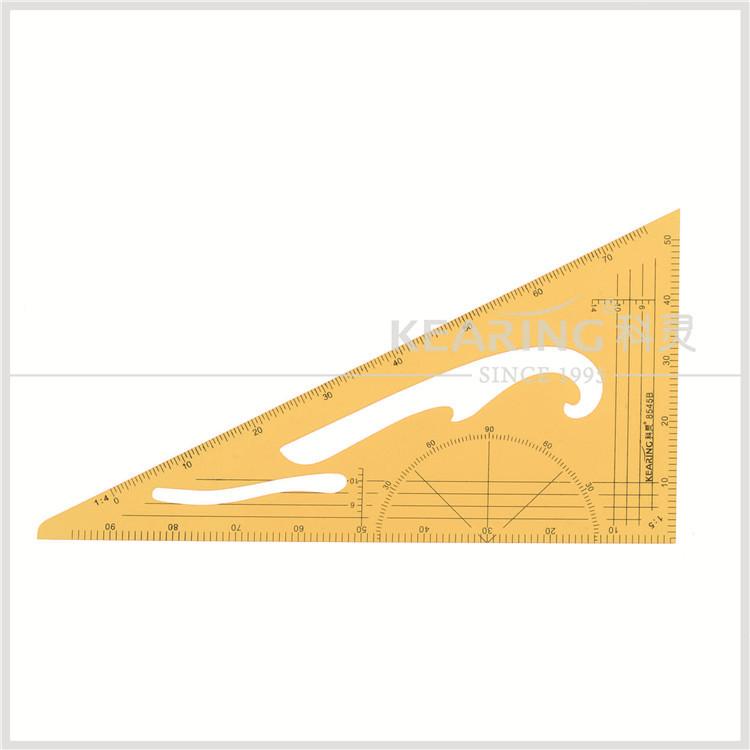 Fan Shape Architects Scale Ruler For Graphics Design Multi Ratio Measure Tool ne