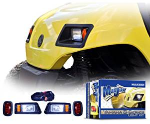 Golf Cart Light Kit will fit Yamaha G-14 through G-22 Carts