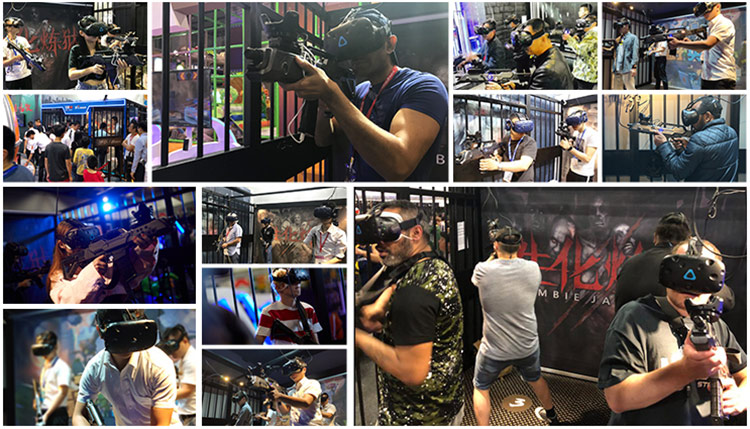 Vr Park Multiplayer Battle Shooting Simulator 9D Vr Virtual Reality Equipment For Vr Arcade
