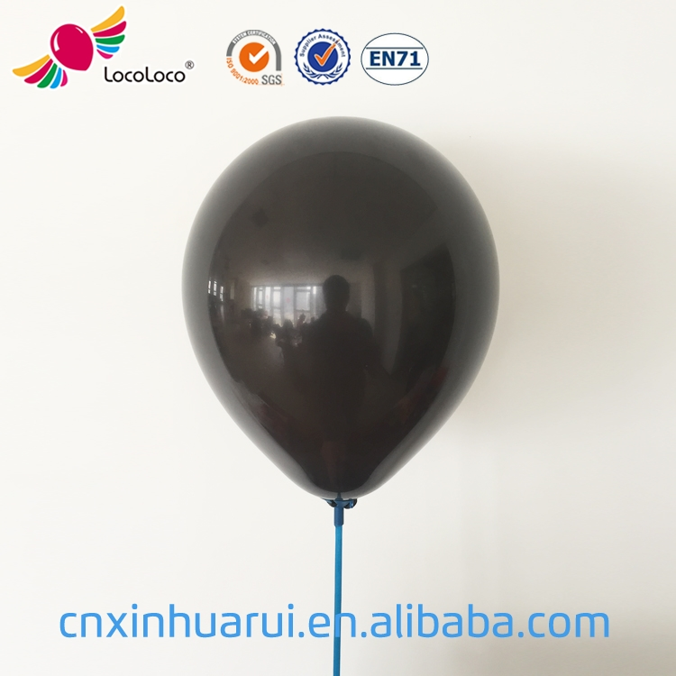 Most Popular Promotional Customized latex latex free black balloons