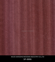 color recon gurjan wood face veneer for decorative wooden furniture door wall thin dyed sheets skin/bamboo veneer for skateboard