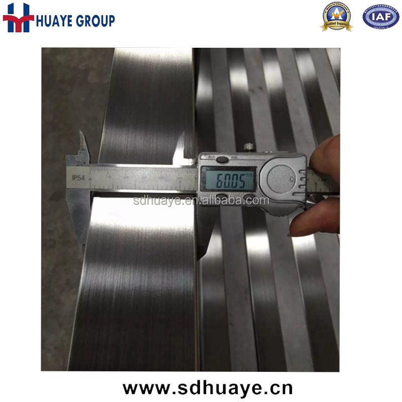 Hairline Satin Brush Finished Stainless Steel Slotted Tube, Channel Pipe For Glass Railing