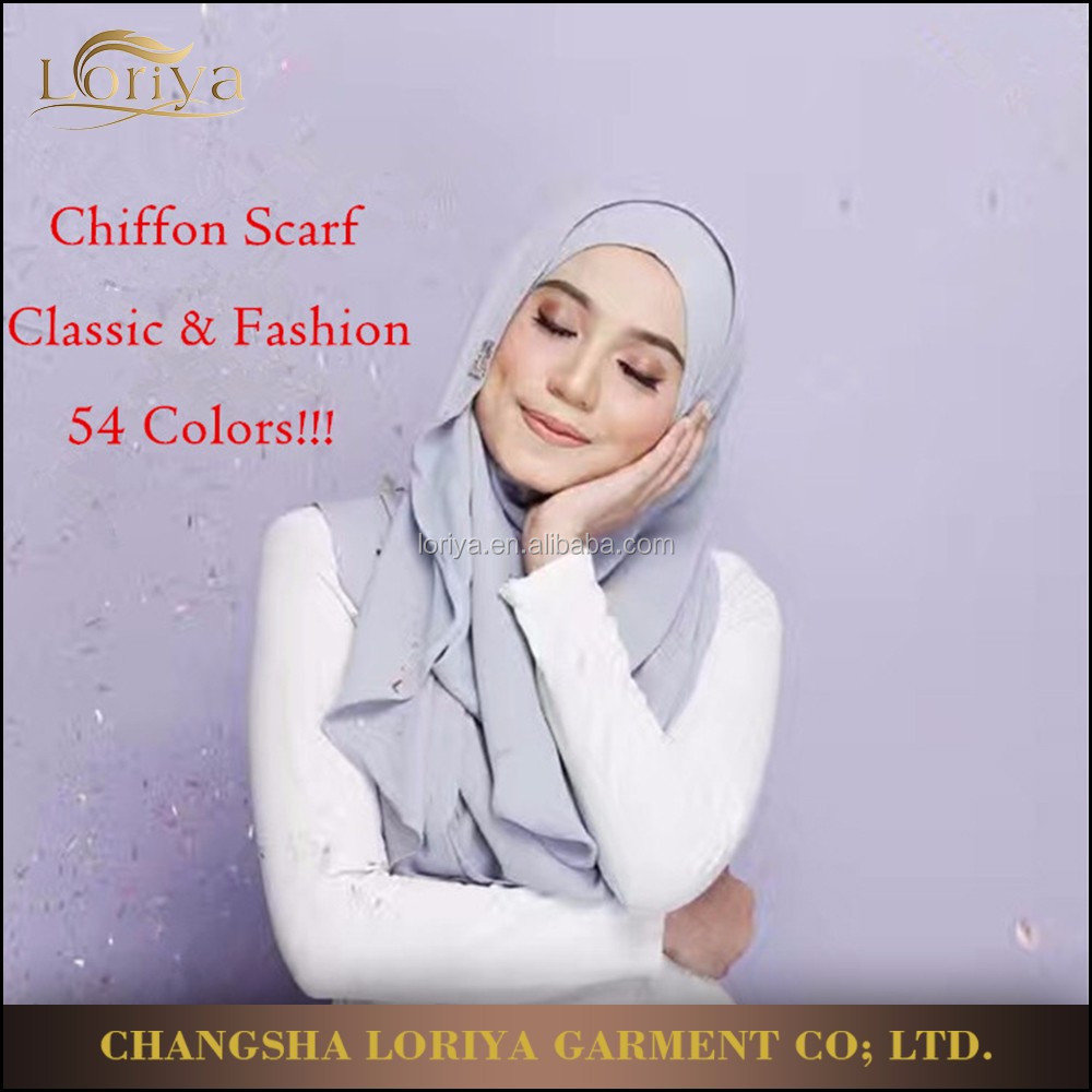 Fancy hijab scarf online wholesale fashinable muslim shawl chiffon hijab