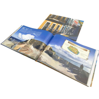 China High Quality Casebound Service Full Color Photography Hardcover Photo Book Printing