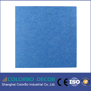 polyester fiber acoustical products for decor karaoke room