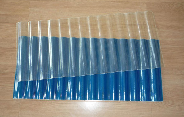 Corrugated Plastic Greenhouse Roof Light Flashing Panels