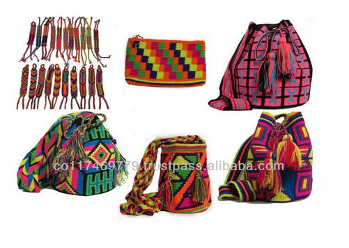 Mochilas Wayuu Colombian Bags Made By Indigenas