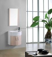 Modern Wall Mounted Small PVC Bathroom Cabinet in good price