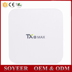3GB DDR4 TX8 MAX Android 6.0 TV BOX better than mag 256