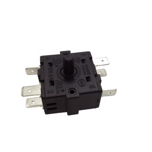 125v plastic 6 position rotary selector switch