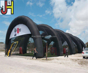 2017 Outdoor Crazy Paintball Game Inflatable Paintball Bunkers Tent