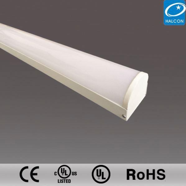 Wide Light Distribution 8Ft T5 Led Integrated Tube Light Fixture