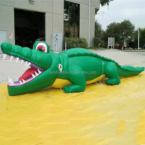 2015 Giant inflatable crocodile model in hot sale,advertising inflatable