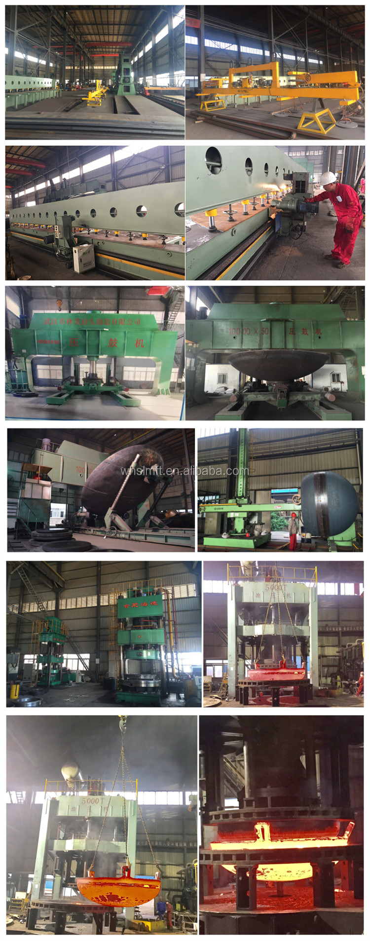 Pressure Vessel Dish End Carbon Steel Dishes Tank Ends
