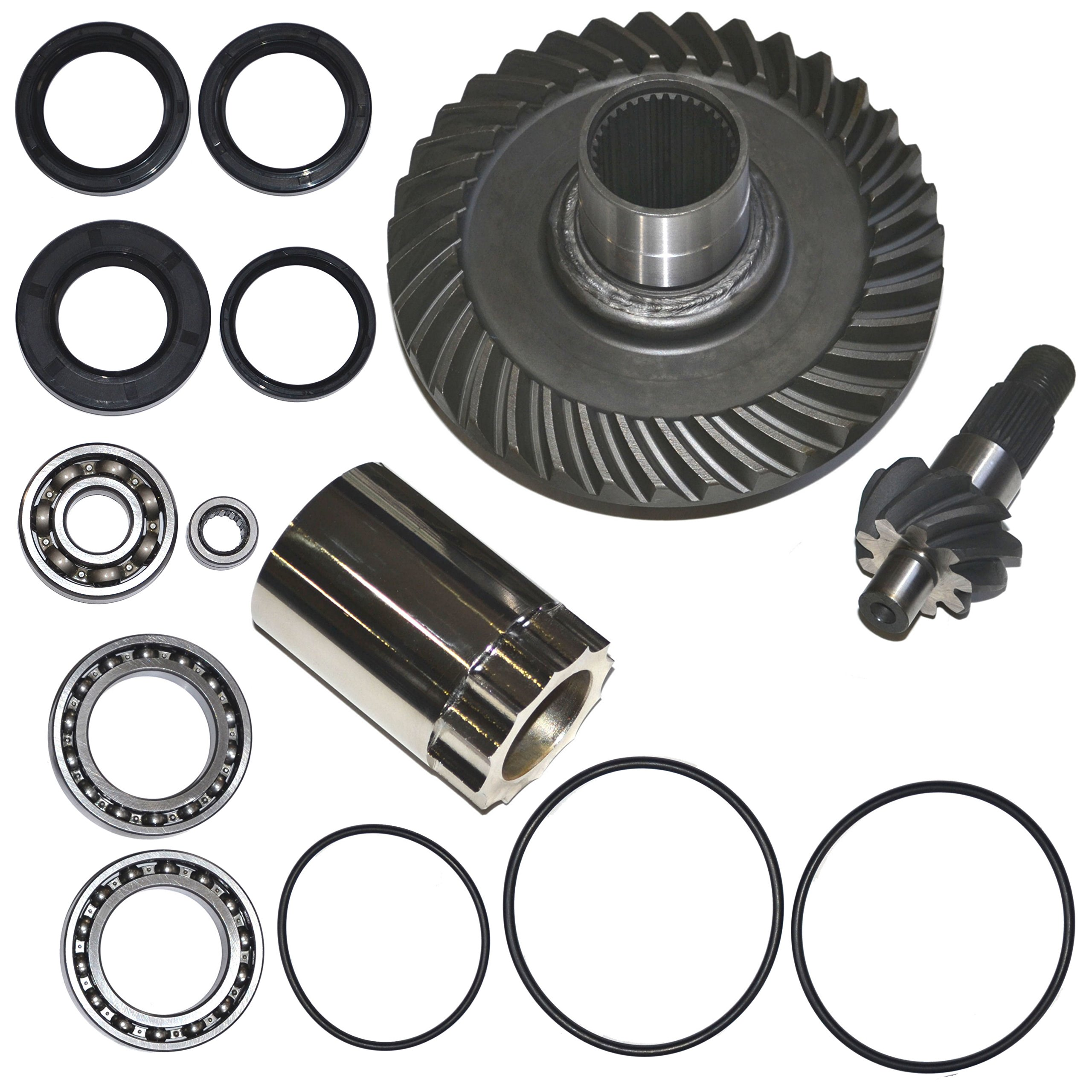 Rear Differential Ring and Pinion Gear Plus Kit Fits 88-00 Honda TRX300 300 Fourtrax