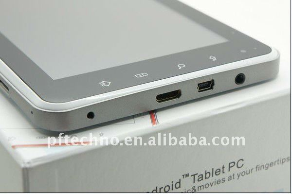 7 inch Android Laptop 3G MID China made Tablet PC OEM