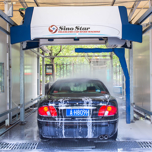 Drive through type touchless car wash machine for sale