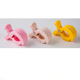 Eco-friendly 73*51mm Safety Good Colours Baby Stroller Clamp Plastic Spring Pegs/ Plastic Clamp