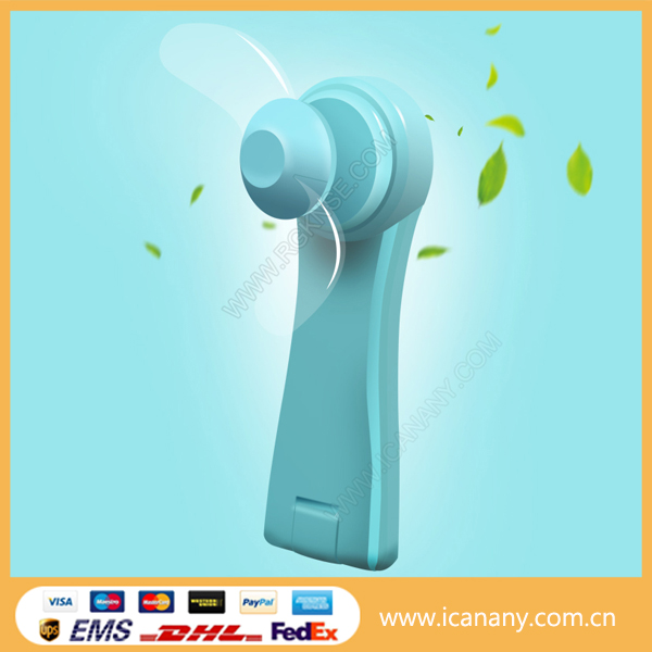 Fantastic China Rechargeable portable mini handheld fan mini 5v fan low power consumption air cooling fan