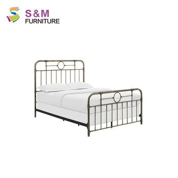 Rustic Country Metal Bed Frame Queen Size - Buy Queen Size Bed Frame ...