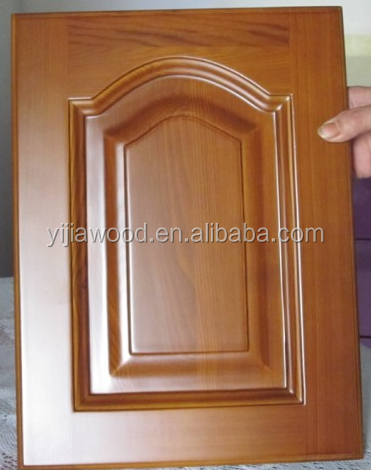 PVC door used for kitchen cabinets