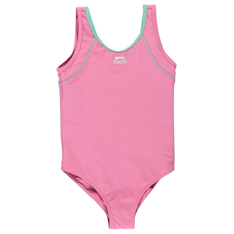 46eccfc5f10 Buy Slazenger Kids Basic Swimming Suit Girls Swimwear Swim in Cheap ...