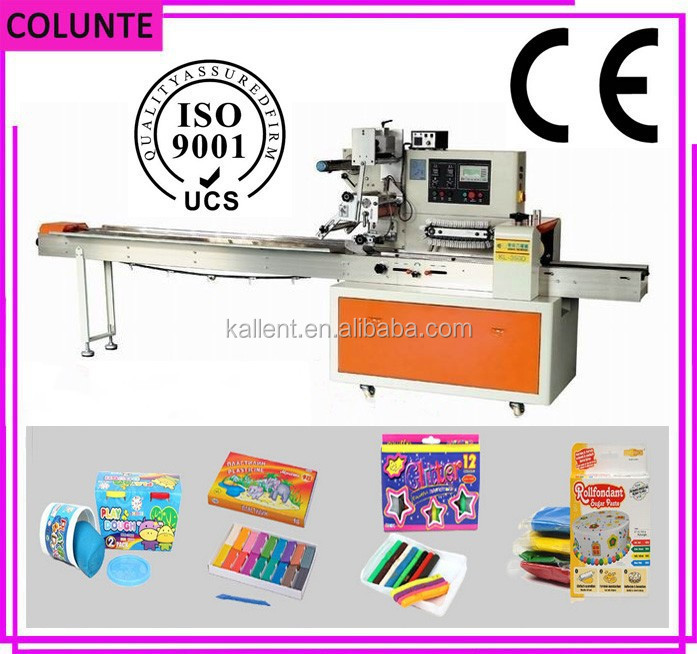 Professional modeling clay making and packing machine