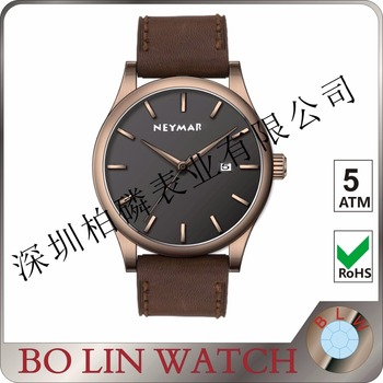 Brand Luxury Bracelet Quartz Wooden Mens Fashion Minimalist Watch