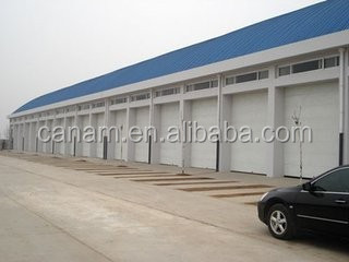 Commercial galvanized steel vertical roller shutter doors