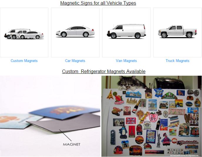Magnetic Door Graphic Car Hood Vinyl Decal Die Cut Sticker Magnet - Custom car magnets die cut