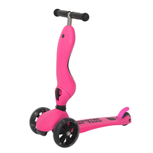 New Style Cheap 3 Rodas <span class=keywords><strong>Kickboard</strong></span> Auto Balance Scooter Crianças 2in1