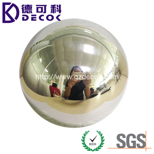 Custom giant metal hollow sphere 48 inch decorative steel ball