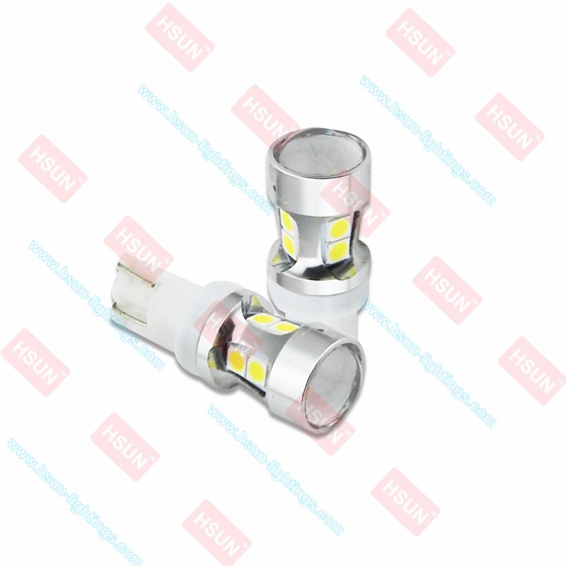Supper Bright Car LED T10 Interior lamp LED SMD3030 W5w Led Auto Indicator Light