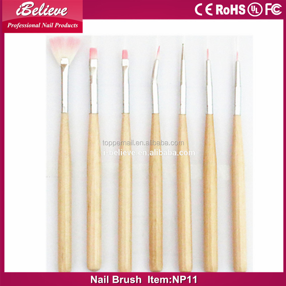 2016 acrylic brush series for nail art