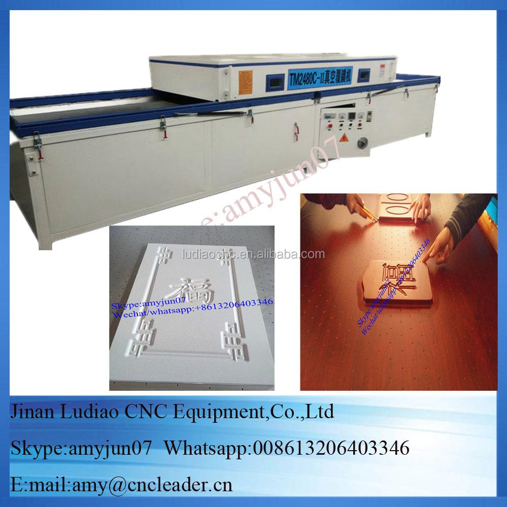 Cheap Price Vacuum Press Machine Pvc,Door Making Vacuum Membrane ...