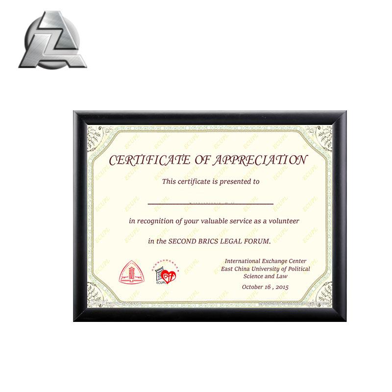 1031 comprar grandes negro metal de encargo barato 18x24 diploma ...