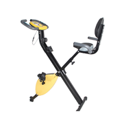 New style cheap price fitness equipment folding exercise bike for home,gym,indoor