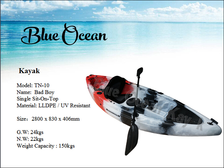 Blue Ocean 2015 new design H style kayak trailer/stable kayak trailer/durable kayak trailer