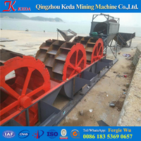 CE motor sand washing machine for mining, quarry, construction / sand washer for beach sand cleaning
