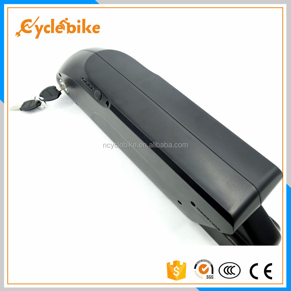 2017 new design battery 36v 11ah electric bike battery by ebike lithium for whole sale