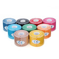 NEW 1 Roll Waterproof breathable Sports Kinesiology Muscles Care Fitness Athletic Health Cotton Elastic Adhesive Tape