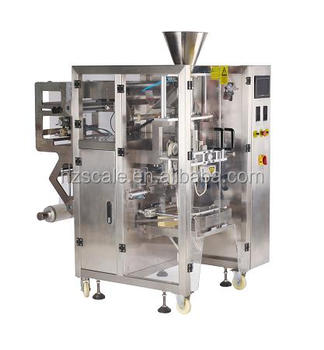 Model V520 CE approval vertical form fill seal packing machine with multihead weigher for snacks in pillow bags