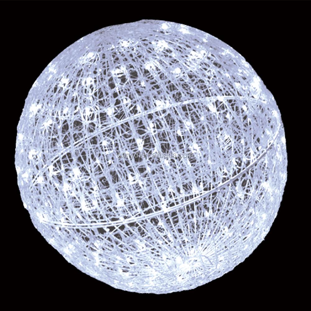 outdoor lighting balls. Color Christmas Lighted Balls Giant Outdoor Led Lights Ball Lighting
