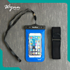 Promotional waterproof bag for phone use pvc