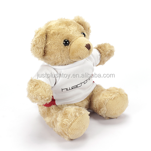 Best promotional gift 100% polyester Eco Friendly Stuffed Lovely Animal Toy custom plush bear dolls