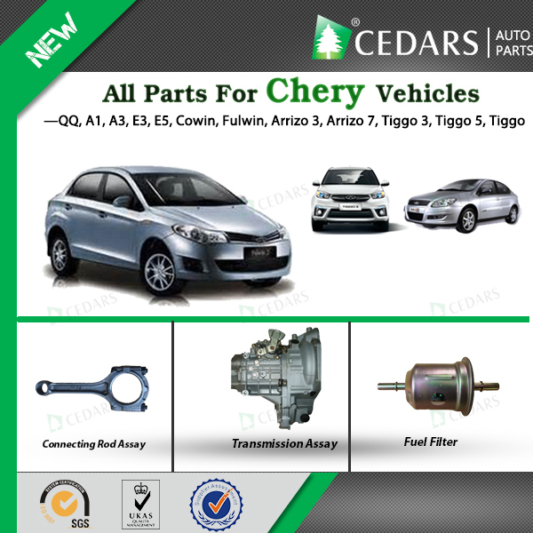 Parts for Chery QQ, Tiggo with 12 Months Warranty