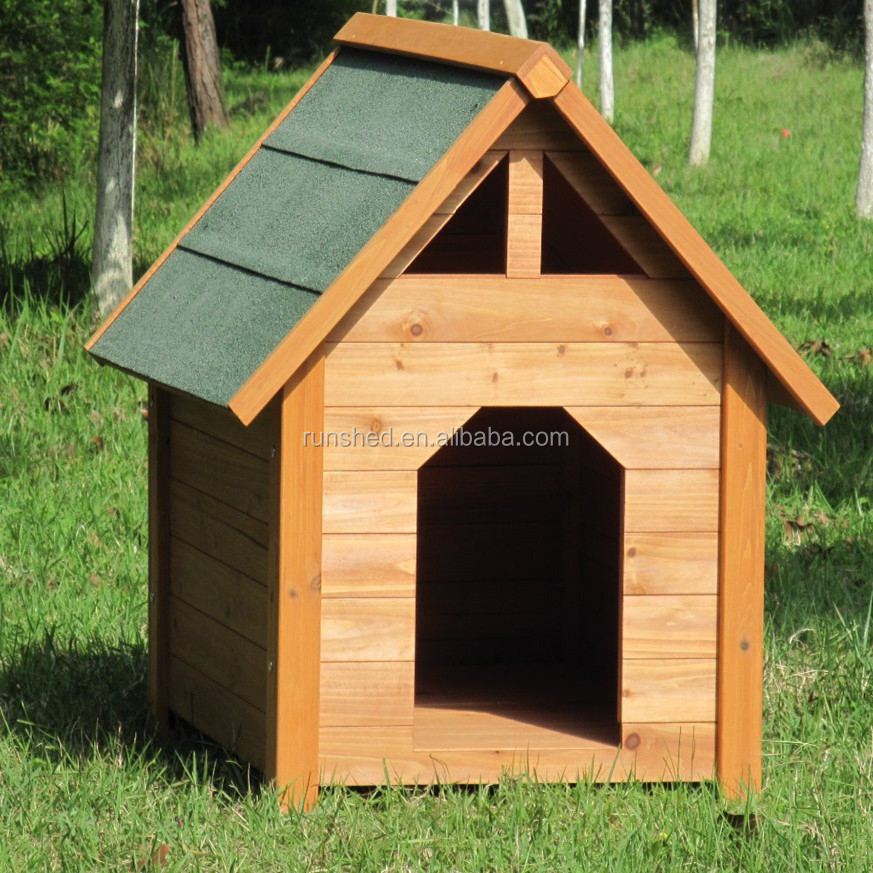Outdoor Small Kennel Cages Wooden Dog House For sale.