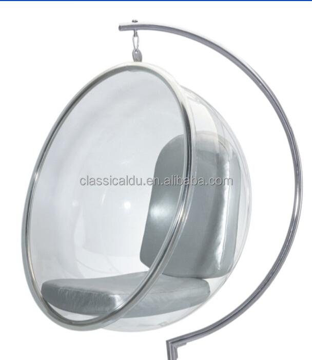 Acrylique Moderne Fauteuil SuspenduBalançoire ChaiseBulle Chaise - Fauteuil bulle