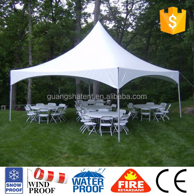 roman style fabric roof event tent for wedding