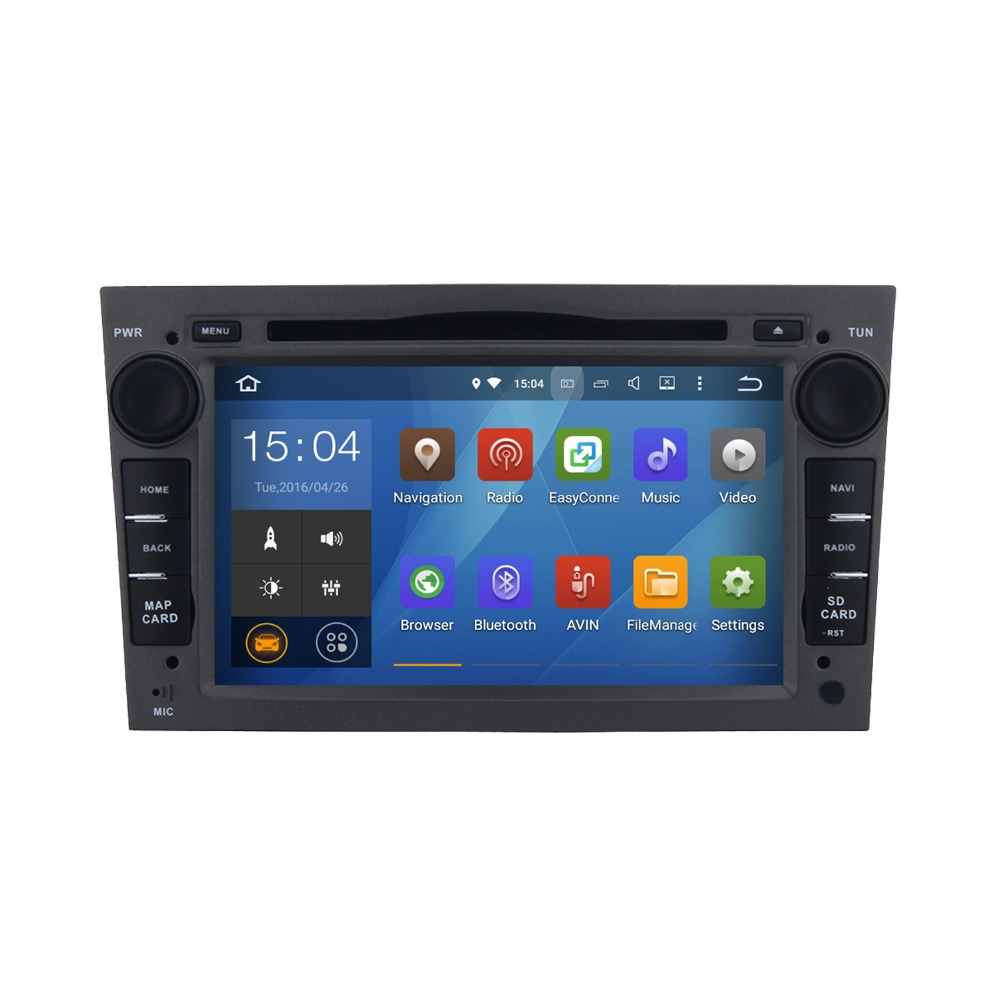 Cheap 7 inch Support all Android 5.1.1 videos car audio dvd player gps navigation system for Opel Corsa D from 2006